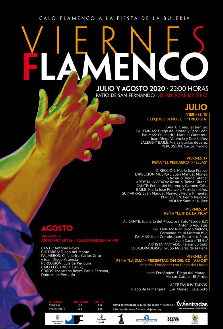 FLAMENCOS FRIDAYS JULY & AUGUST 2020